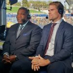Former NFL tight end debuts in Fox's No. 2 booth to call Eagles-Falcons