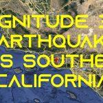 3.6 Magnitude Earthquake Strikes Near Thousand Oaks, Southern California