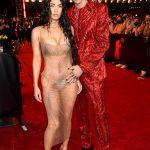 Megan Fox and Kourtney Kardashian Introduce 'Future Baby Daddies' MGK and Travis Barker at MTV VMAs